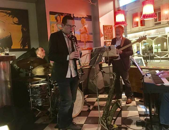 RyanMcCaffrey, a Jazz Musician